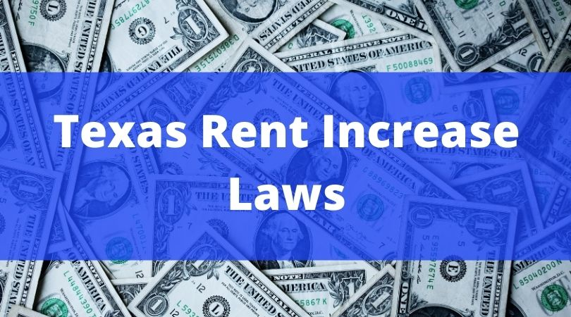 texas rent increase laws